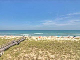 Shore Beats Working: A 3 Bedroom Oceanfront Condo with a Convenient Elevator