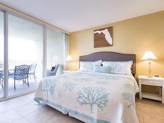 Beach Condo/ Onsite Restaurant/ WIFI/ Sleeps 4