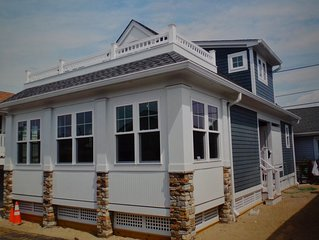 NEW CONSTRUCTION   Beach Block on Private Street in Point Pleasant Beach, NJ