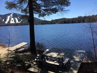 Waterfront Ski Cabin on Moose Pond
