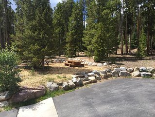 Why have neighbors when you can rent this 12 acre Lodge close to Downtown Breck?