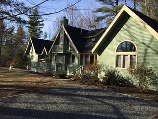 Moultonborough 4BR, 2400SF, Suissevale, 1/2 ml to Beach, 3 ml Castle in Clouds