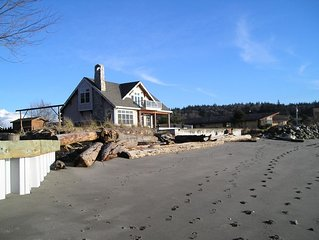 Whidbey Island Beach Front Vacation Home