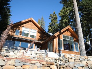 Bright and Modern North Tahoe Lakefront, Buoy and Private Pier Included!