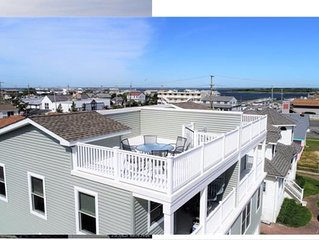 5 Houses AWAY FROM BEACH!  LBI 2020 Brand new home available, Unit A Oceanside
