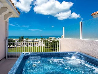 Luxury, Family Friendly Townhome - Rooftop Hot Tub Featuring Amazing Beach Views