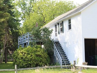 Cottage on Historic Estate with Private Beach & Majestic Long Island Sound View.