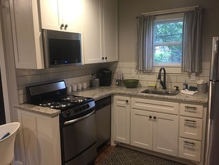 Darling house for 2, ideally located to the Bentonville Square & bike trails.