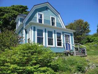 Lubec Village Charmer - In the Heart of Town with Waterviews!