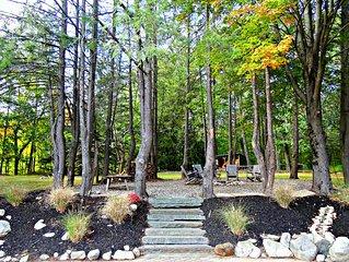 Beautiful Private Stone Home near Bethel facilities.