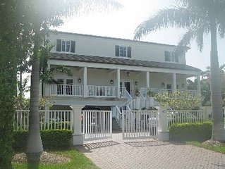 Custom Built Luxury Home on Canal; Walk to Beach; Close to Everything!