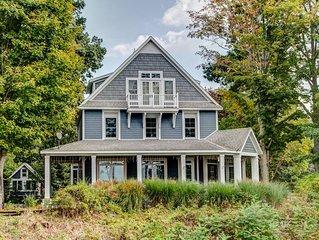 Elegant Family Home on  Lake Michigan