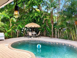 2 Minute Walk to White-Sand Beach | Heated Private Pool | Family-Friendly