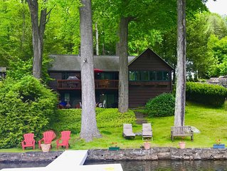 Charming & Classic LAKEFRONT Chalet:  Vintage 3BR, 1BA and beautifully furnished