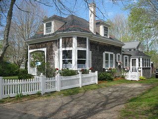Cape Cod 'Treasure' in Pocasset Village , steps to Beach, 2 homes for your use.