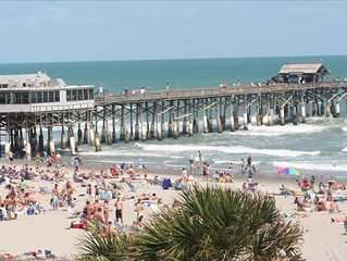Amazing Ocean/Beach Views! Corner Unit next to Cocoa Beach Pier