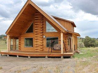 Beautiful, Serene Brand New Log Cabin Lodge