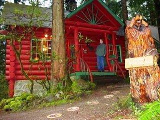 Laughing Bear  Log Cabin