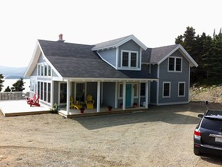 Grey Cliff Cottage - Luxury Vacation Home In Trinity East, Trinity Bay, NL