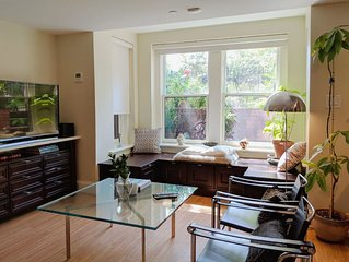 Recently listed! Beautiful Apartment in newly renovated DC Brownstone