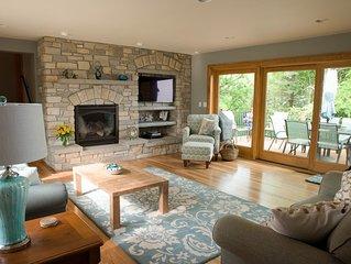 Beautiful Lake Michigan Home W/ Private Beach