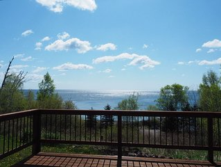Lake Superior Home with Awesome Views