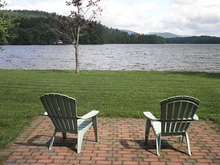 Beautiful home on Songo Pond with great waterfront family and dog friendly .