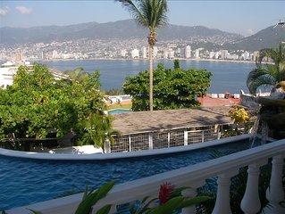 Villa Ladomar - Las Brisas Guitarron - Incredible Bay View!