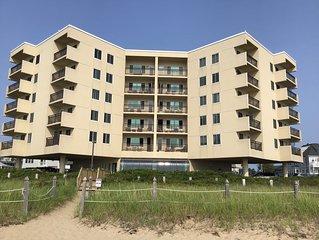 Beachfront condominium on 7 miles of white sandy beach!