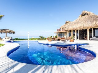 Casa Delfin 3 bedroom 3 bath Beachfront home. Beautifully decorated and designed