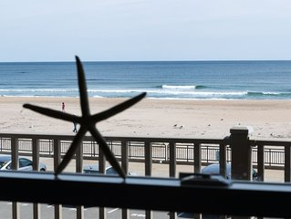 Upscale Oceanfront Condo Steps From The Seashell Stage