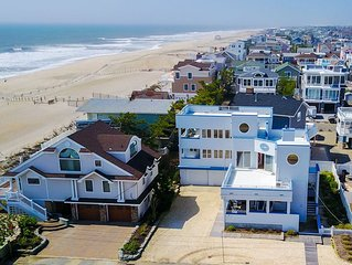 Beach Haven, LBI Luxury Home 3760 SqFt with 6 spectacular decks, 1 off the beach
