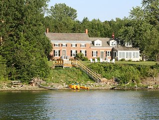 Turner Farmhouse - Lakefront 5 BR - 250 Acres -Save your date: NOW BOOKING 2020!
