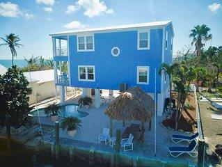 Florida Keys Waterfront House w/Pool & Spectacular Ocean Views/Minimum 28 Nights