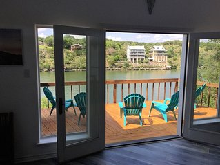 Breathtaking Lakefront Home on Lake Marble Falls, next to LBJ & Lake Travis
