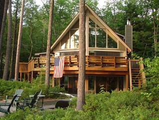 Lake Winnipesaukee Lakefront Home With Great Sandy Beach/Swim Area