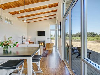 NEW: Sonoma-Napa Wine Country retreat. Surrounded by vineyards, views, & privacy