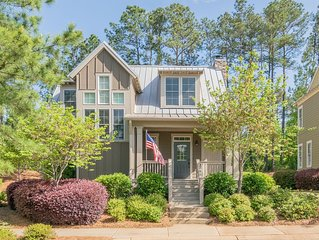 Beautiful Reynolds Golf Cottage located near Lake Oconee, Georgia
