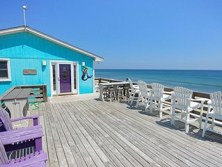 Oceanfront home featuring 500 square foot Oceanfront deck!