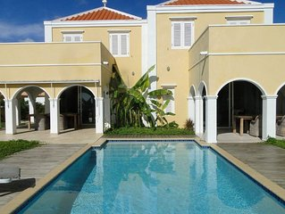 Villa Is On The Sea Side With A Beautiful View Over The Caribbean Sea