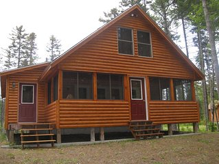 Enjoy this beautiful and cozy cabin in the heart of Moosehead Lake!