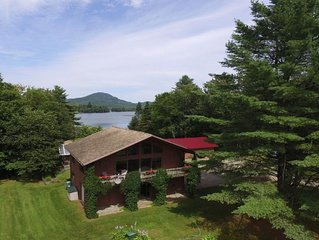Beautiful lakefront home, 20 acre private lot. Close to Stowe and Jay Peak