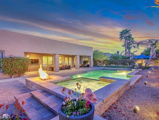 Walk to Coachella & StageCoach - Golf, Tennis/Private Desert Oasis w/ Pool & Spa