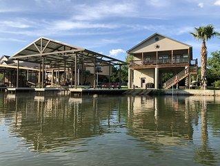 Family Getaway | LBJ Waterfront | Beautiful Lake Views | Game Room | Boat Dock