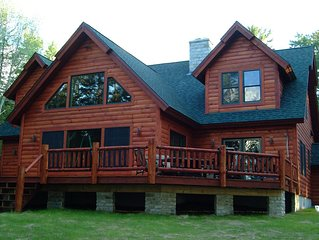 Luxury lakefront home.