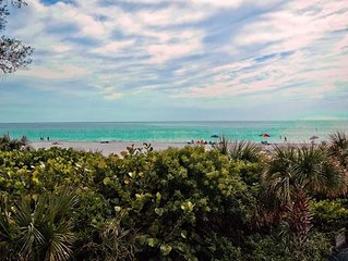 Gulf Sands 103, 2B/2B Beachfront condo on Anna Maria Island!