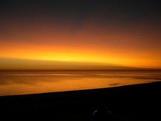 Contemporary, Lake Michigan, Sandy Beach, Great View