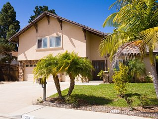 Close to Beach and Del Mar Racetrack Spacious Fully Remodeled Encinitas Home
