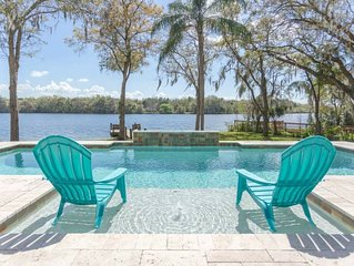 ☀SOLAR HEATED POOL☀ Riverfront☀ PARADISE FOUND! 5 mins to Busch Gardens☀