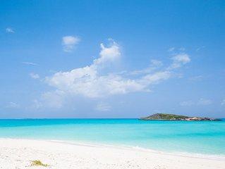 Luxurious 5000 sq ft Beachfront Villa On Breathtaking Tropic Of Cancer Beach